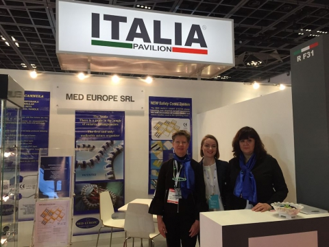 Med Europe booth at Arab Health 2018