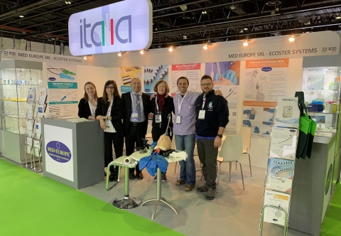 Med Europe booth at Arab Health 2020