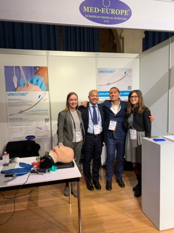 Med Europe booth at WAMM 2019