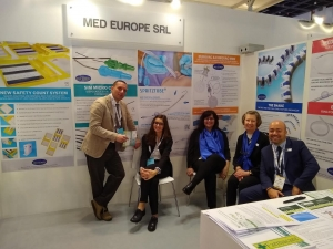 Med Europe booth at Arab Health 2019